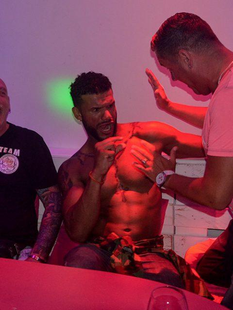 Rene Zierl im Stripclub
