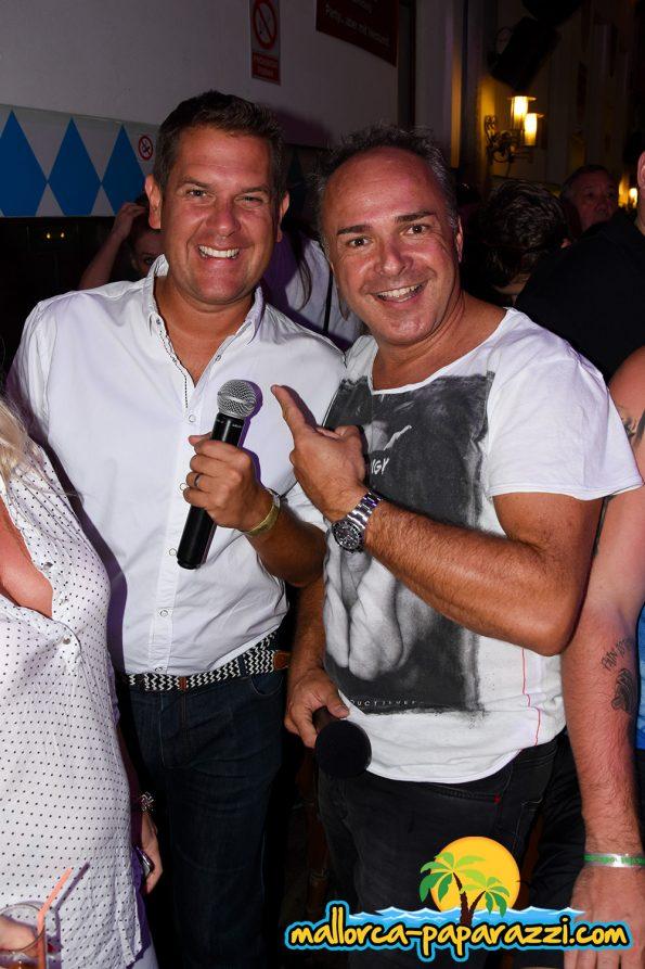 Peter Wackel und Tim Toupet im Bierkönig 2017